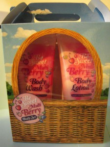 Body Lotion Sweet Berry