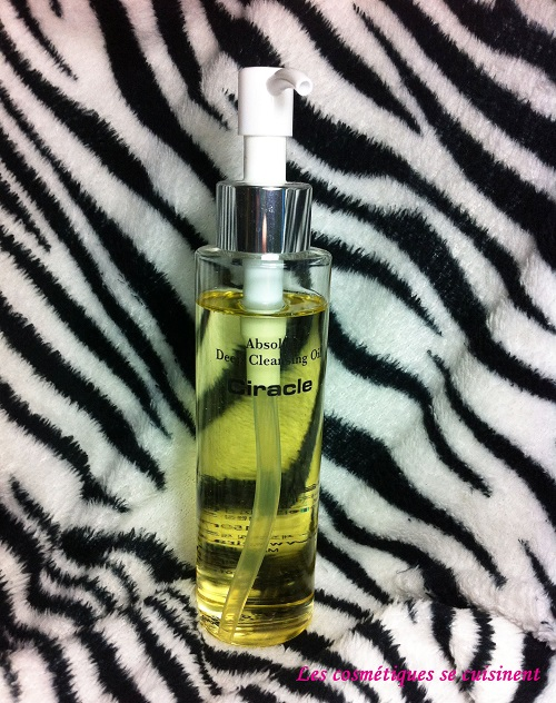 ciracle deep cleansing oil
