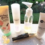 routine soin makeup plage