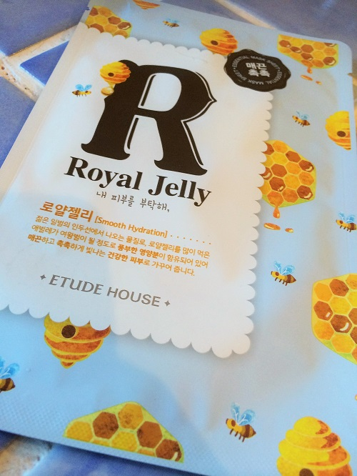 royal jelly mask etude house