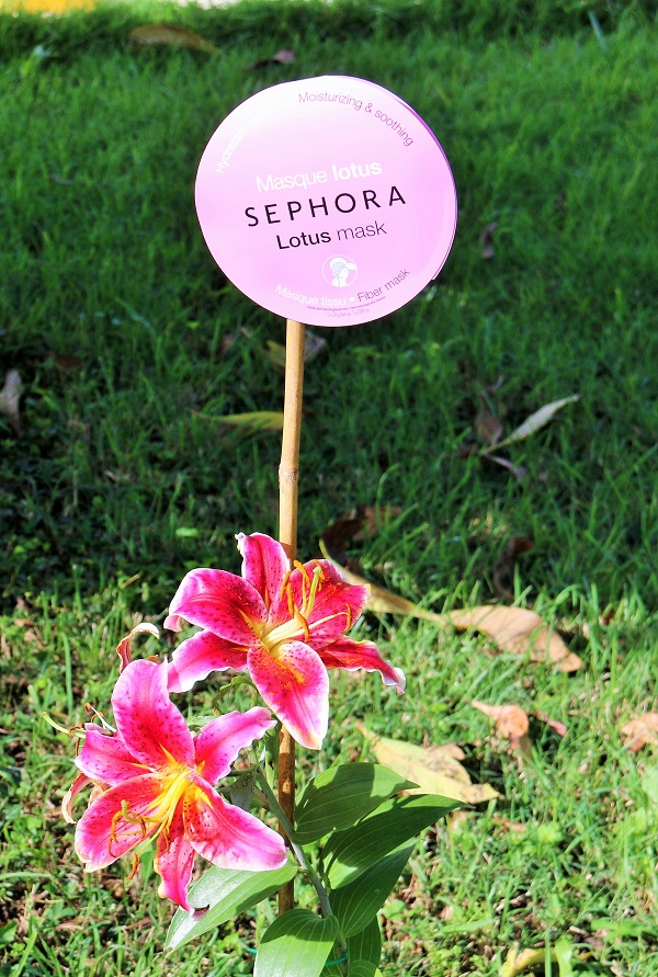 masque lotus sephora