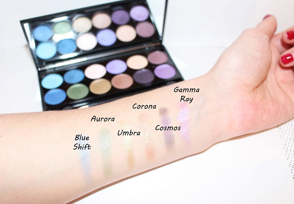 Sleek Supernova palette copie