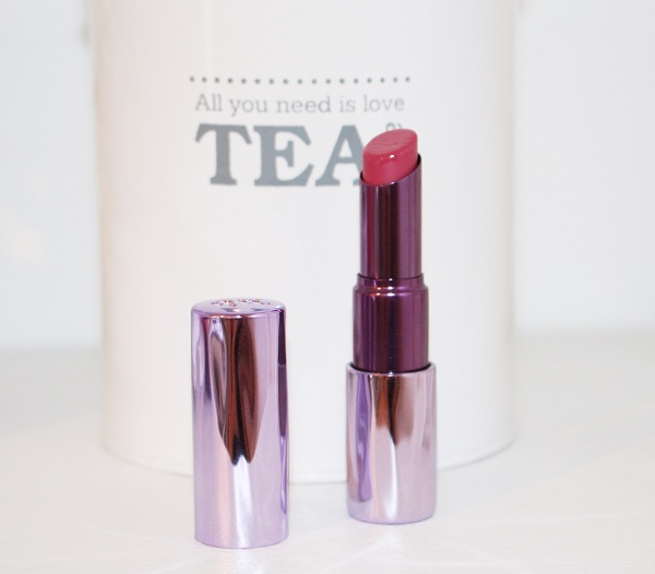 urban decay sheer revolution lipstick lady flower