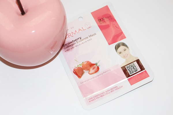 strawberry-collagen-mask dermal