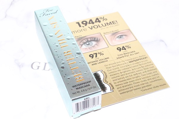 Better than sex mascara waterproof de Too Faced