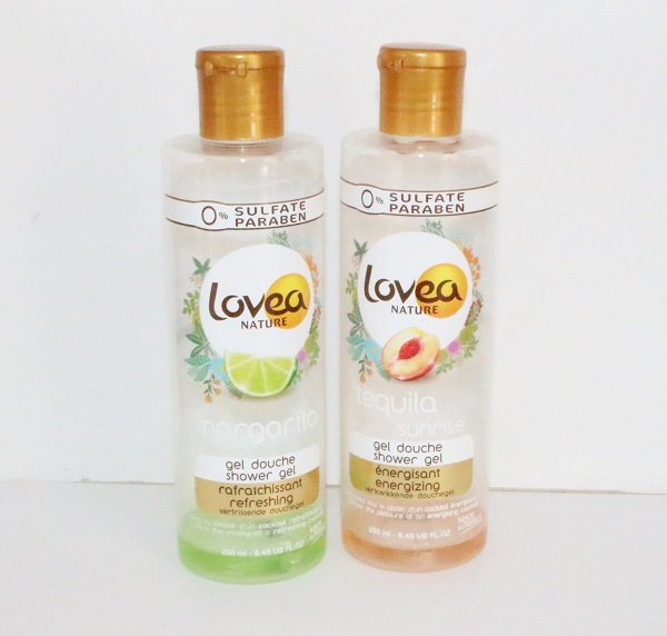 Lovea gels douche termines