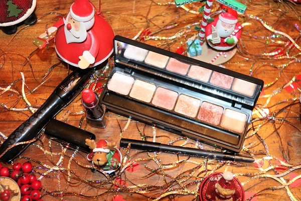 maquillage candy cane monday shadow challenge