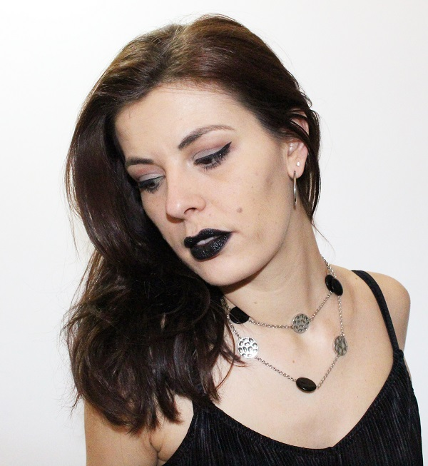 maquillage grege goth style
