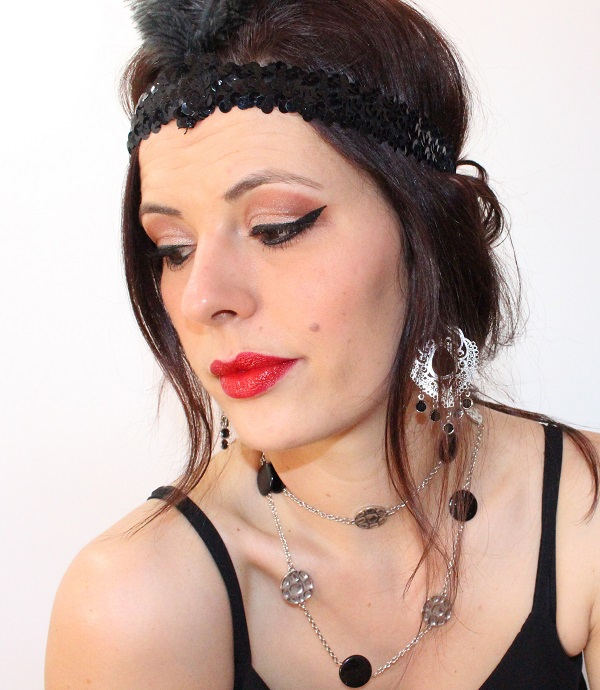 maquillage glam moulin rouge