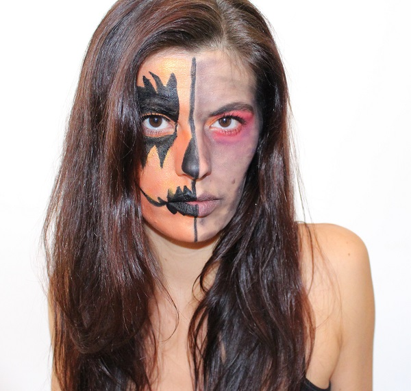 maquillage msc halloween