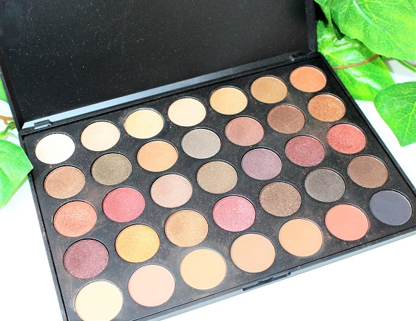 one week palette morphe 35F