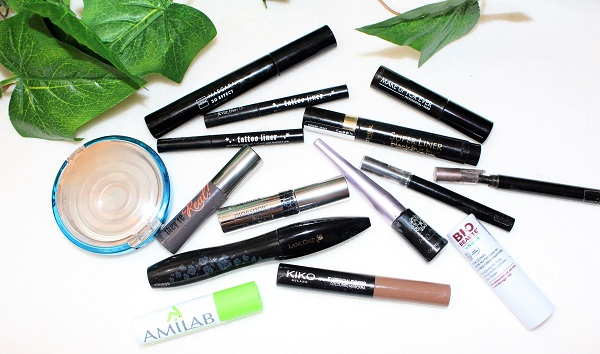 produits maquillage termines