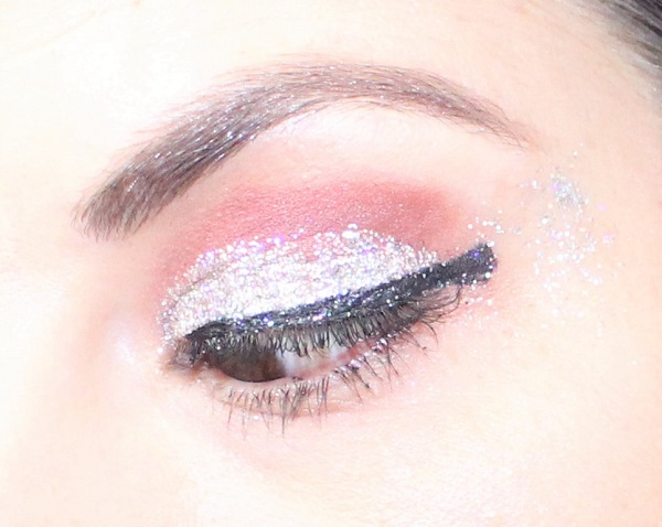 maquillage beauty defi paillettes happy new year
