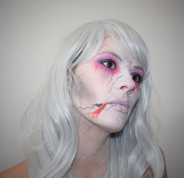 maquillage horreur facile