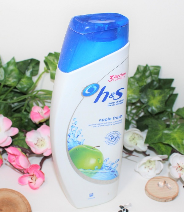 shampoing apple head and shoulders