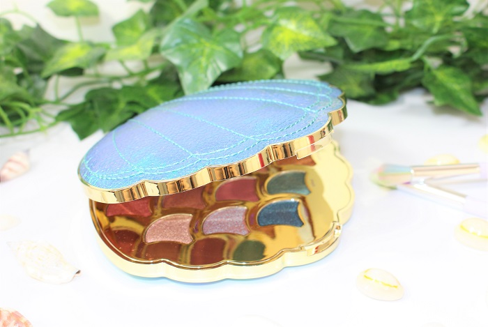 palette tarte coquillage Be a mermaid & Make waves