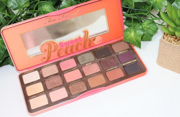 sweet peach palette too faced one week palette