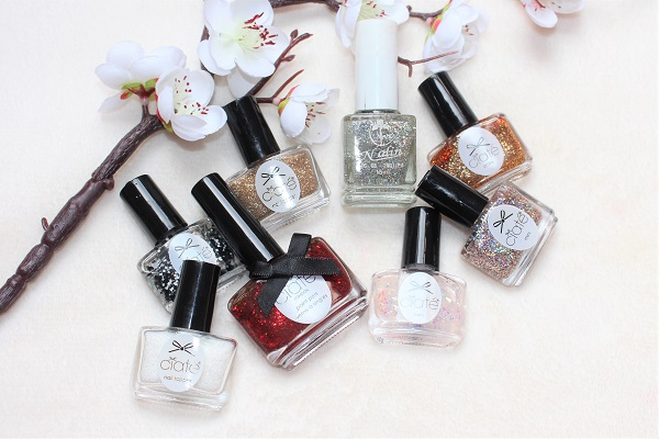vernis a ongles paillettes