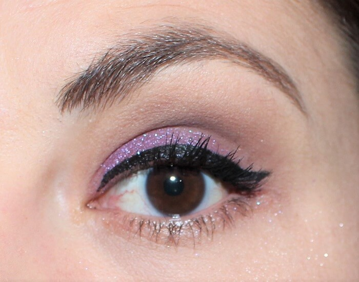 maquillage violet dare colour pop
