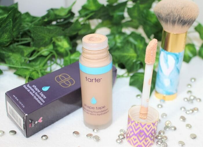 shape tape hydrating foundation Light medium honey tarte cosmetics avis